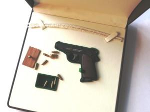 Миниатюрное огнестрельное оружие как подарок