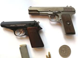 Миниатюрные модели оружия