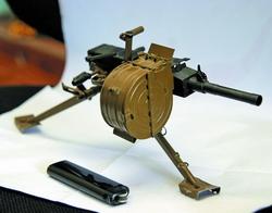 Гранатомет АГС-30 калибром 3 мм. Уменьшен в пять раз, но он действующий!