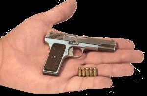 Действующая миниатюрная копия пистолета ТТ