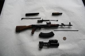 Миниатюрные копии стрелкового оружия