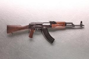 Действующая миниатюрная копия AK 47